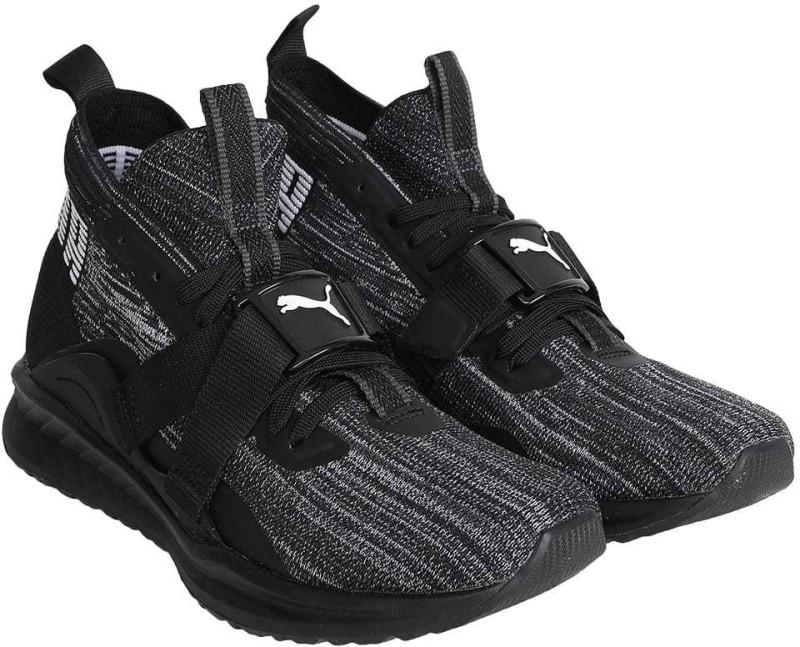 Puma IGNITE evoKNIT 2 Walking Shoes For Men(Black)