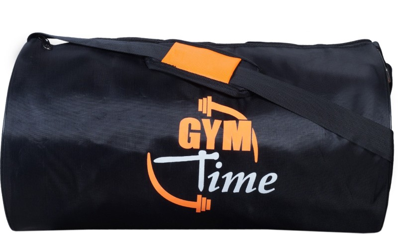 Dee Mannequin Casual Orange Black Gym Bag(Multicolor, Kit Bag)