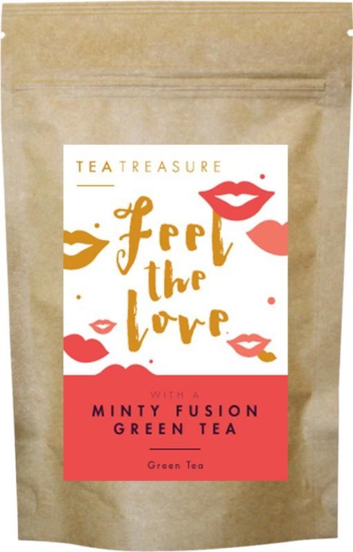 TeaTreasure Minty Fusion Green Tea Mint Green Tea(50 g, Pouch)