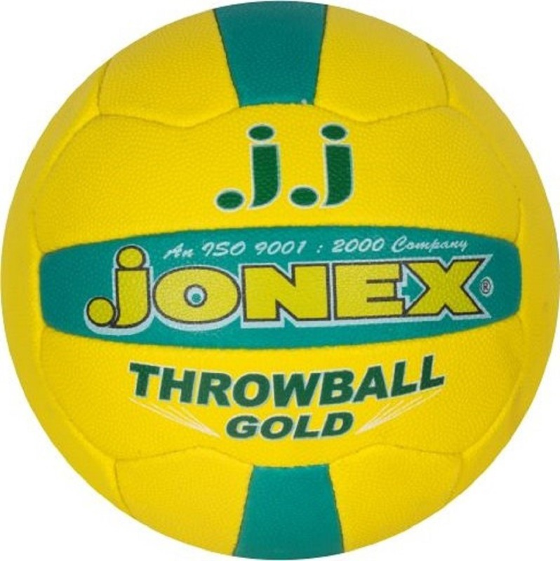 Jonex Champion Gold Throw Ball - Size: 5(Pack of 1, Multicolor)