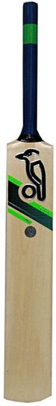 Kookaburra Size 2 - Tennis Cricket Bat - Poplar Willow Bat - Ideal for 7 to 8 years old Poplar Willow Cricket Bat(Long Handle, 0.700 kg)