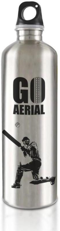 Hot Muggs Live the Sport : Cricket - Go Aerial Stainless Steel Bottle 750 ml Bottle(Pack of 1, Multicolor)