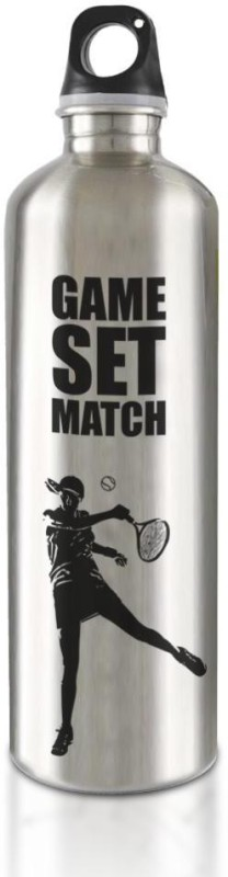 Hot Muggs Live the Sport : Tennis - Game. Set. Match Stainless Steel Bottle 750 ml Bottle(Pack of 1, Multicolor)