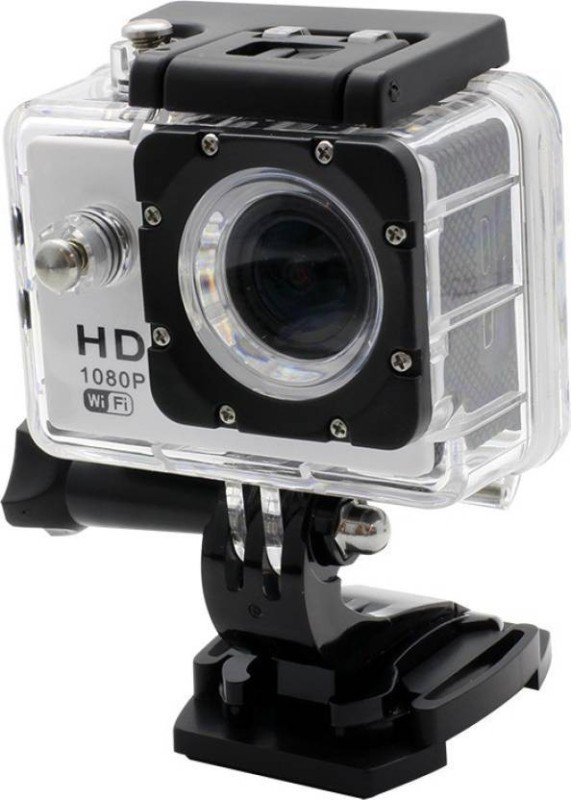 Mezire HD Action Adventure camera-04 1 Camera, 1 Waterproof Housing, 1 Handle Bar, 1cPole Mount, 4 Mounts, 1 Battery, 1 USB Cable, 1 User Manual Sports & Action Camera(Black)
