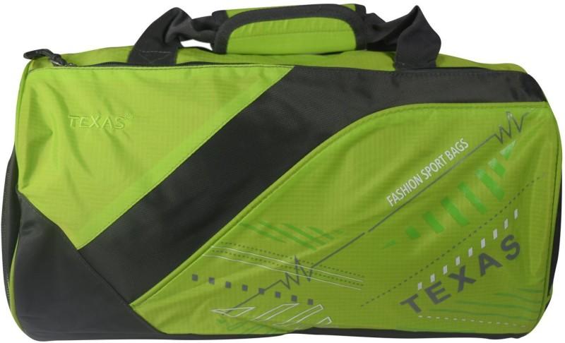 Texas USA (Expandable) Exclusive Imported Gym Bag-313-Green Grey Gym Bag(Green)