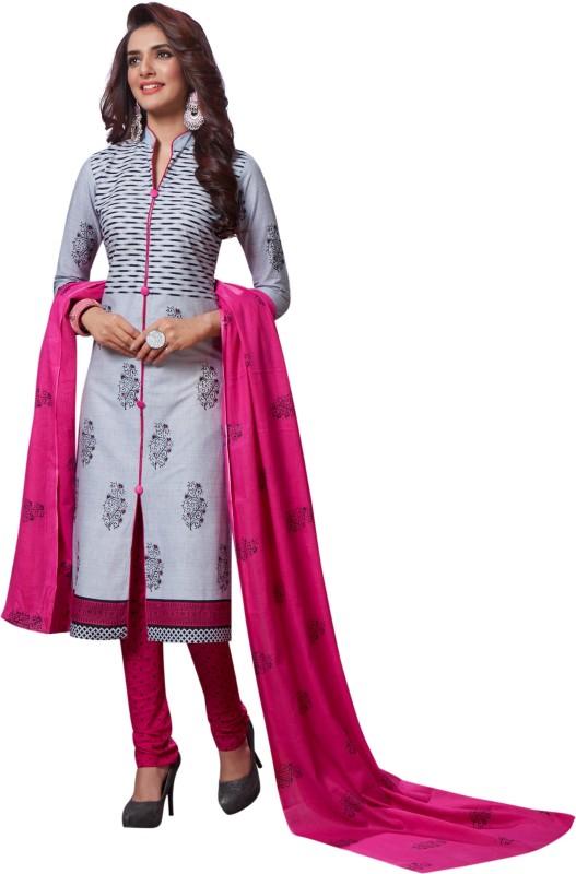 Fashion Valley Cotton Printed Salwar Suit Dupatta Material(Un-stitched)