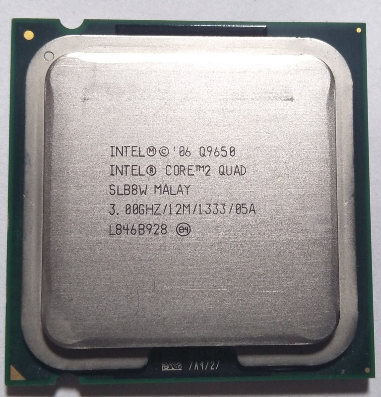 Intel 3.0 LGA 775 Core 2 Quad Q9650 Processor(Silver)