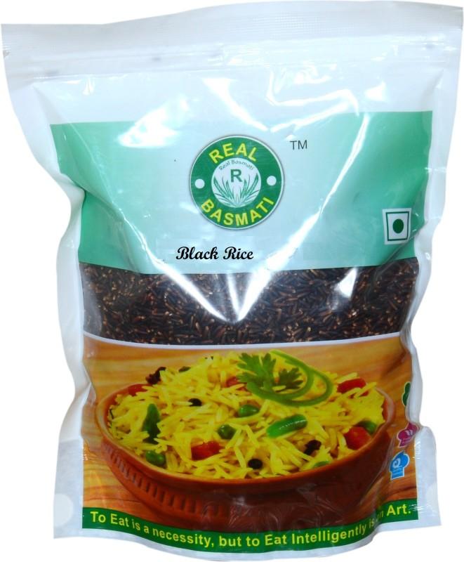 Real Basmati black Black Ponni Rice (Medium Grain, Parboiled)(1000 g)