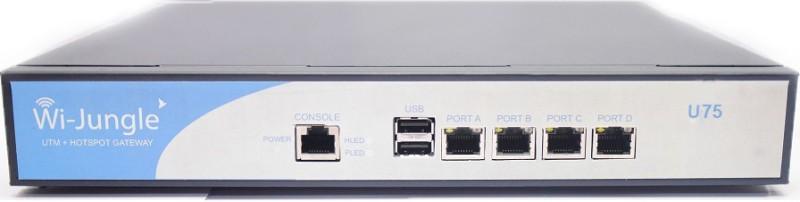 WiJungle U75 Router(Silver)