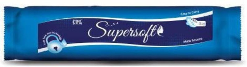 Supersoft SSPG-002 Sanitary Pad(Pack of 30)