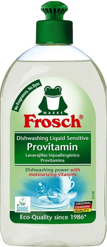 Frosch Sensitive Vitamin dishwshing liquid Dish Cleaning Gel(None, 500 ml)