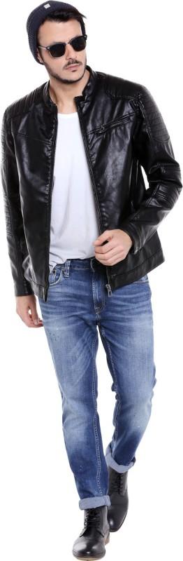 Jack & Jones Full Sleeve Solid Mens Jacket