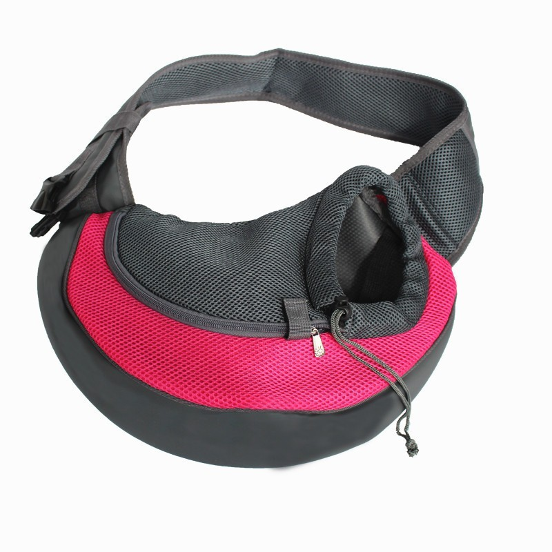 Shrih Small Pet Carrier Sling,Outdoor Travel Tote Single Shoulder Bag Carrier for Puppy Pet Dog Cat Pink Purse Pet Carrier(Suitable For Cat, Dog)