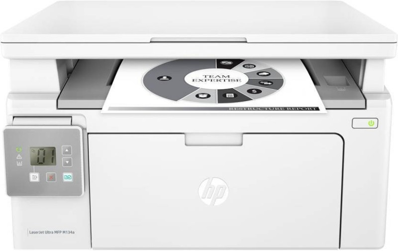 HP LaserJet Ultra MFP M134a Multi-function Printer ( WITH, Toner Cartridge) Multi-function Printer(White)