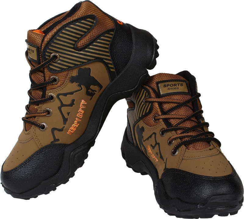 Earton Hiking & Trekking Shoes For Men(Multicolor)