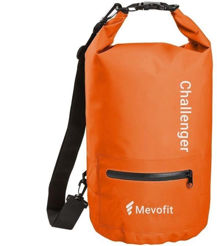 MevoFit Challenger Gym Traveller Tote Bag(Orange, Rucksack)