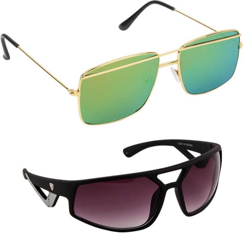 Hob Epic Ink Wrap-around Sunglasses(Multicolor) image