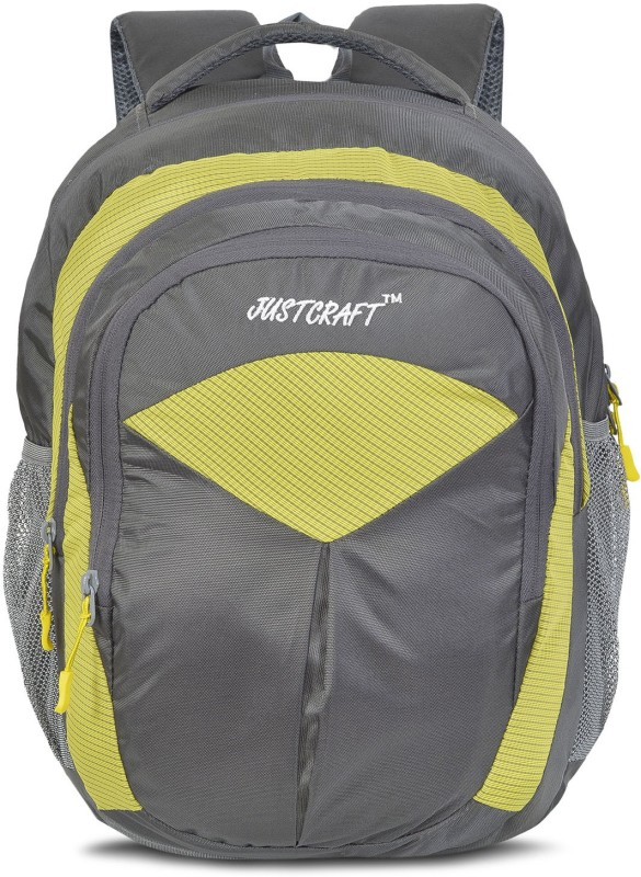 Justcraft Goldy 1000D 30 L Backpack(Yellow)