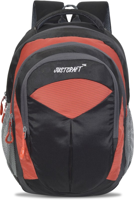 Justcraft Goldy 1000D 30 L Backpack(Red)