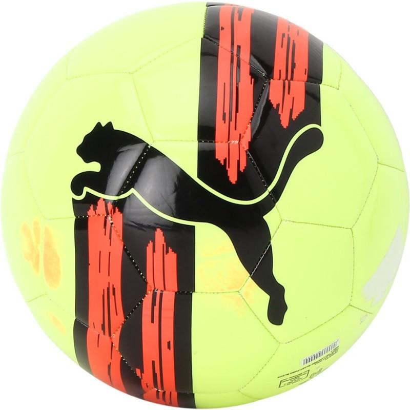 Puma Ka Big Cat Ball Lamon Red Soccer Ball Football - Size: 5(Pack of 1, Multicolor)