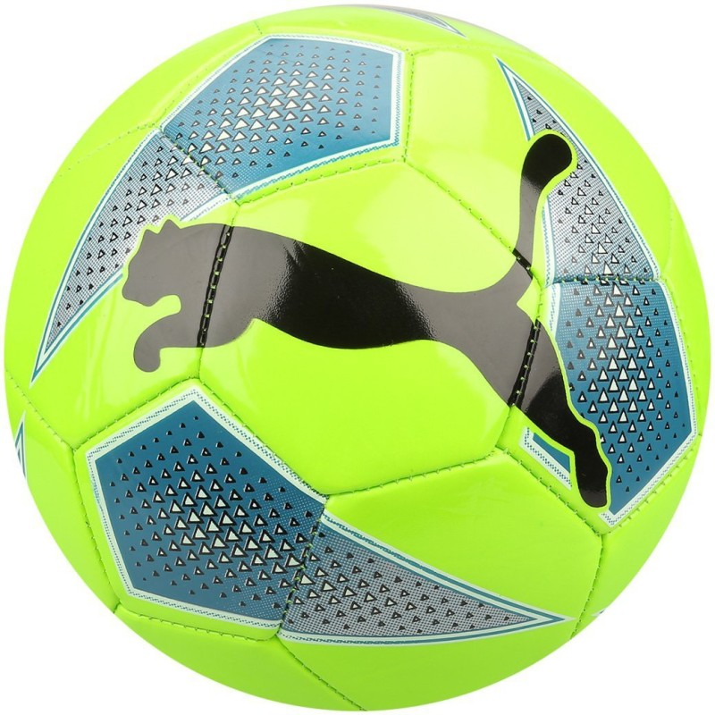 Puma Big Cat 2 Green Soccer Ball Football - Size: 5(Pack of 1, Multicolor)