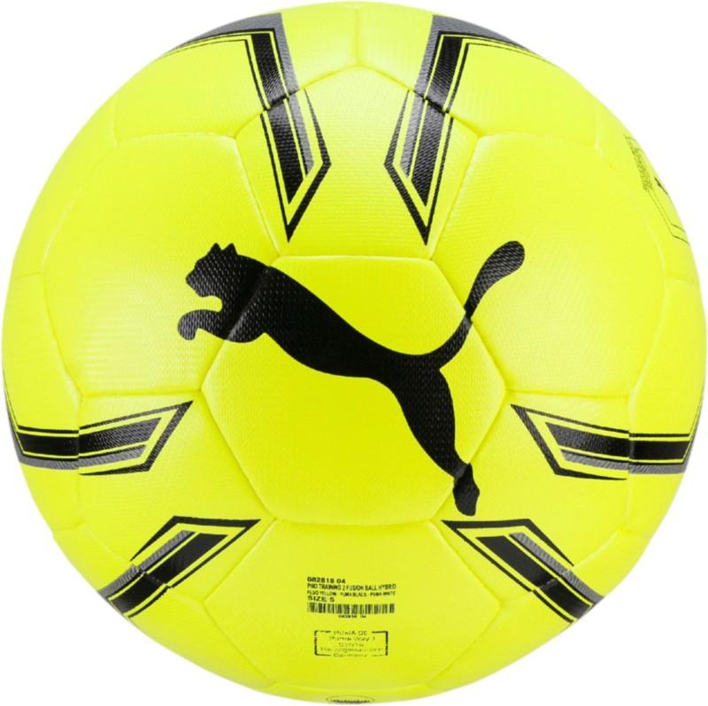 Puma Pro TraIning 2 Hybrid Football - Size: 5(Pack of 1, Multicolor)