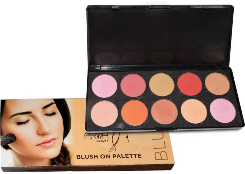 Arwa Beauty Care Blush On Palette(Multicolor)