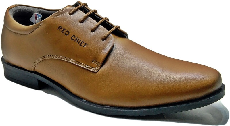 Red Chief Men Tan Formal Derby For Men(Tan)