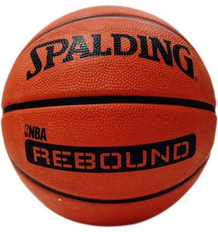 spalding NBA REBOND Basketball - Size: 5(Pack of 1, Orange)