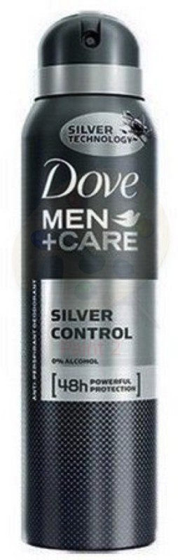 Dove SILVER CONTROL Body Spray - For Men(150 ml)
