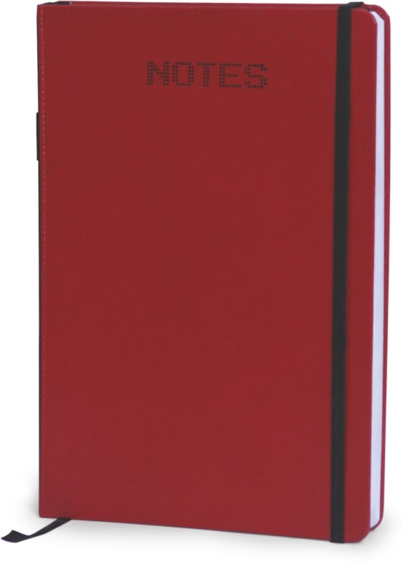 La kaarta A5 Notebook(Red Elastic Band Pvc Notebook Sbn Pen A6 Size, Red)