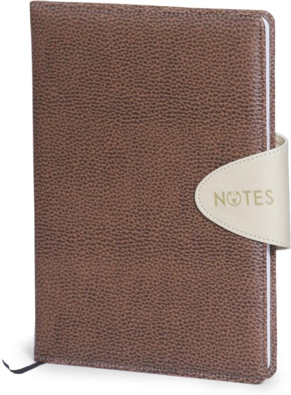 La kaarta Flap Smart Tan Notebooks Mdbt A6 Size A6 Notebook 224 Pages(Tan)
