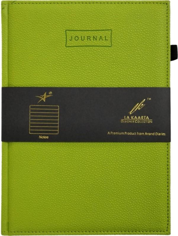 La kaarta Green Journal A5 Notebook 224 Pages(Green)