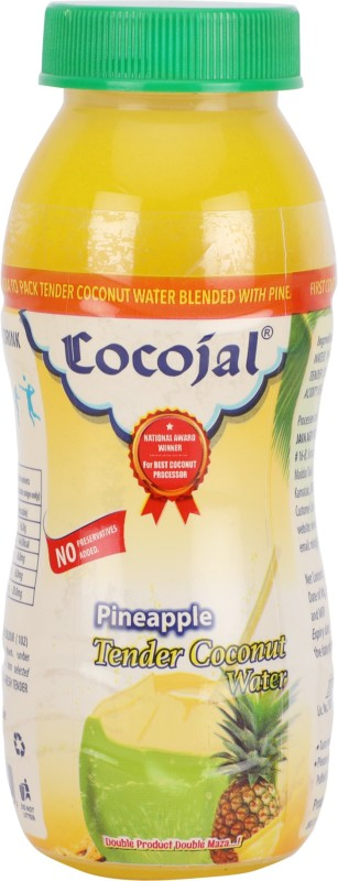 Cocojal Tender Coconut Water - Pineapple Flavor 200 ml