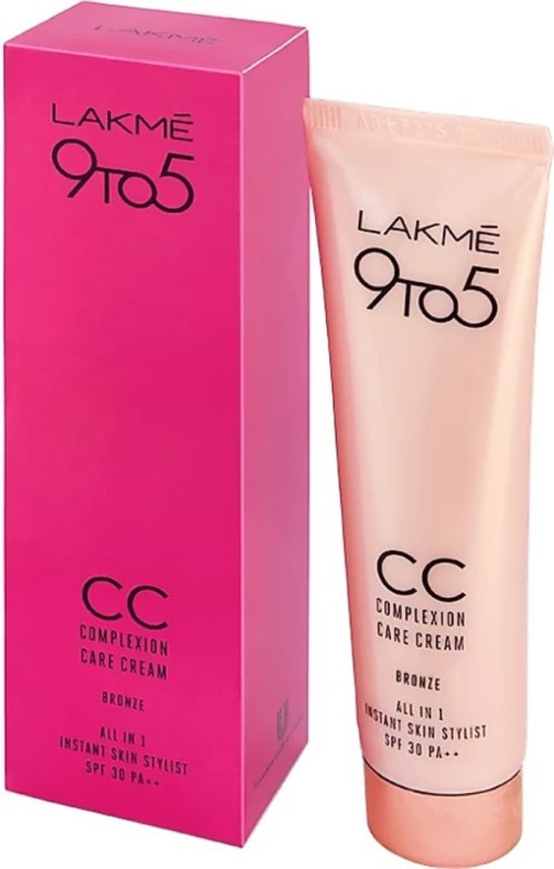 Lakme 9 to 5 Complexion Care Cream Foundation(cream, 30 g)