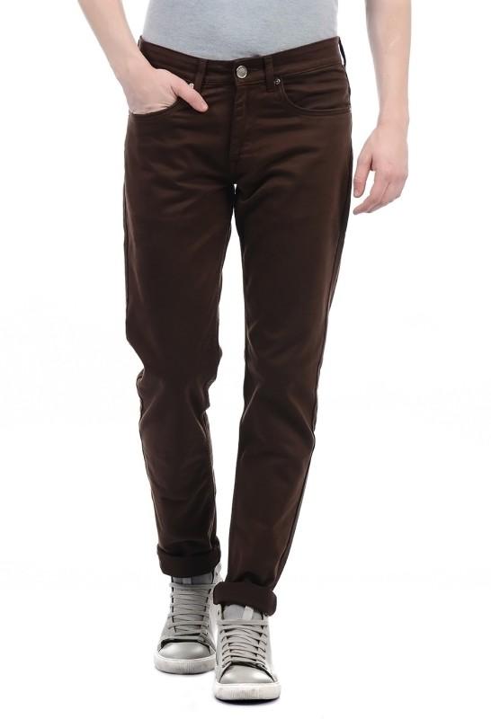 Monte Carlo Regular Men Brown Jeans