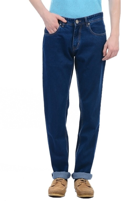 Monte Carlo Regular Men Dark Blue Jeans