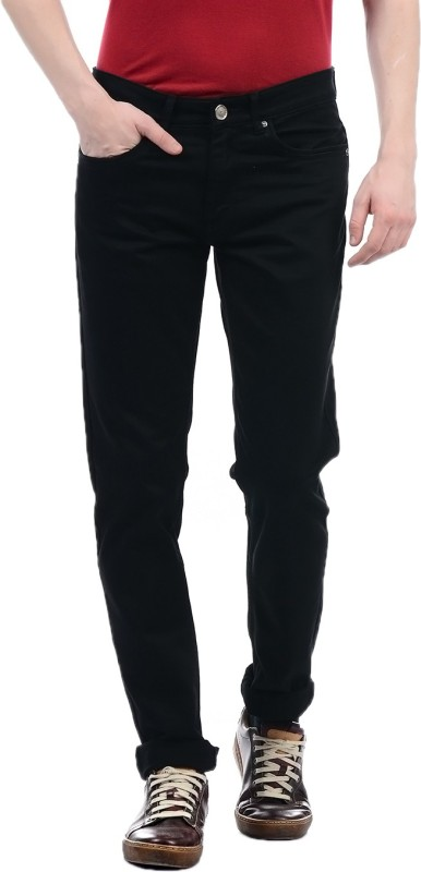 Monte Carlo Regular Men Black Jeans