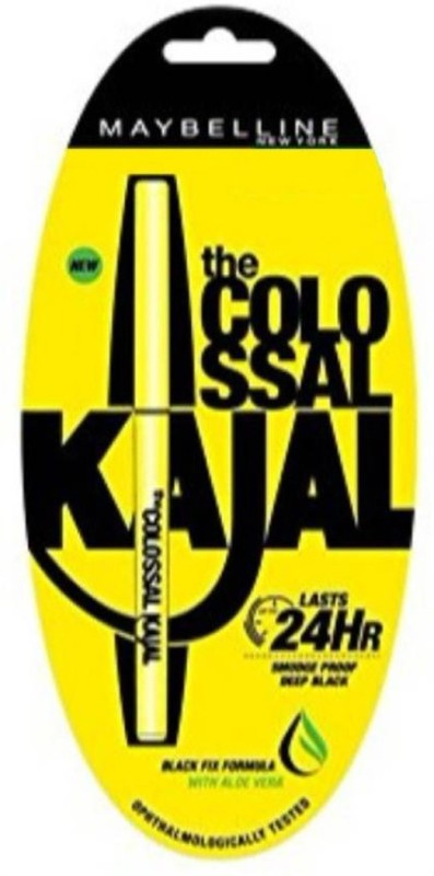 Maybelline New York Colossol kajal deep black 0.35gram 0.35 g (Black) 0.35 g(BLACK)