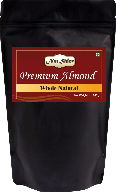 Nut Shine Whole Natural (250 Gm) Almonds(250 g)