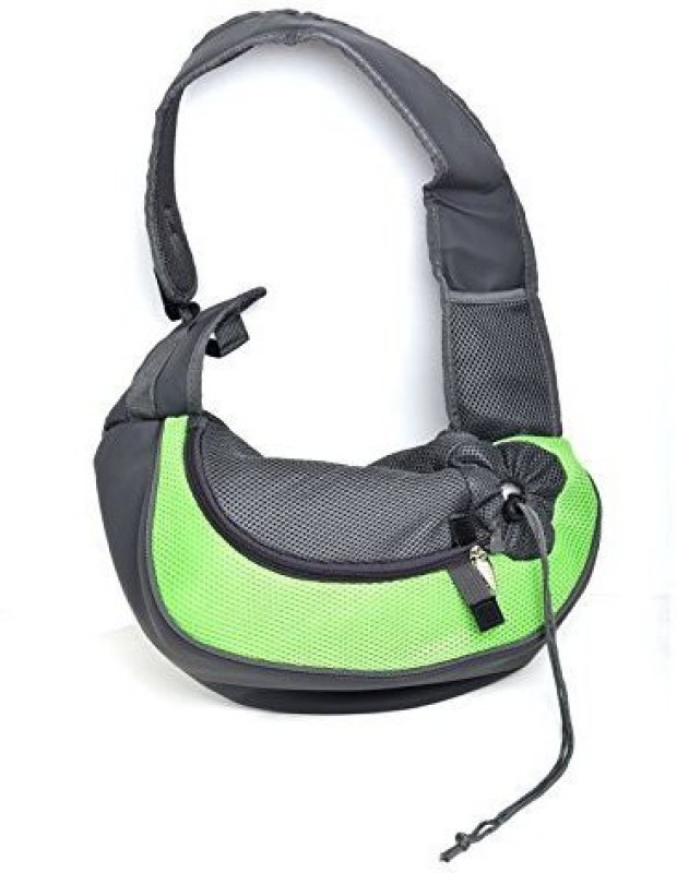 Shrih Small Pet Carrier Sling,Outdoor Travel Tote Single Shoulder Bag Carrier Green Purse Pet Carrier(Suitable For Cat, Dog)