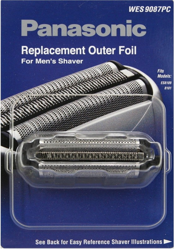 Panasonic WES9087PC Mens Electric Razor Replacement Outer Foil