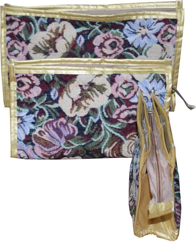 Aadhya Cosmetic Pouch(Beige)