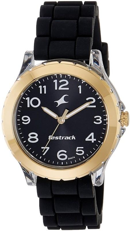 Fastrack Trendies Analog Black Dial Watch Trendies Watch For Women