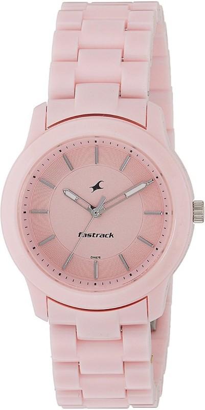 Fastrack Trendies Analog Pink Dial Womens Watch Trendies Watch For Women