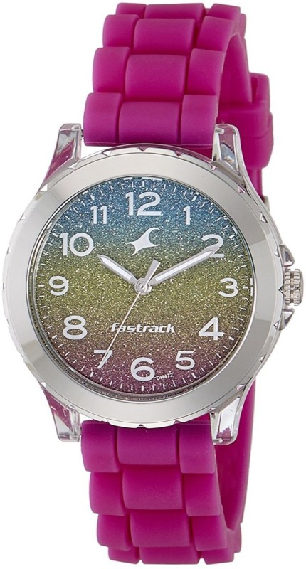 Fastrack Trendies Analog Multi Colour Dial Womens Watch Trendies Watch For Women
