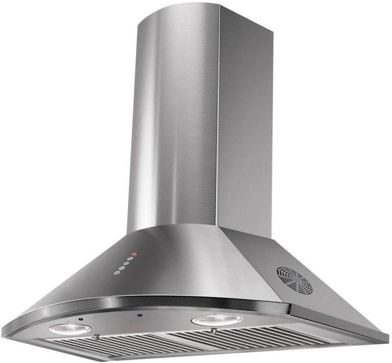 Faber Hood TENDER 3D T2S2 MAX LTW 60 Wall Mounted Chimney(Silver 1095 CMH)