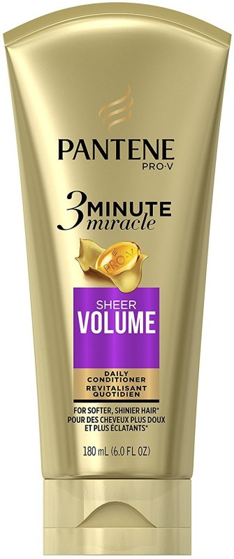 Pantene Sheer Volume 3 Minute Miracle Deep Conditioner(180 ml)