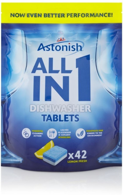 Astonish All Dishwashing Detergent(840 g)