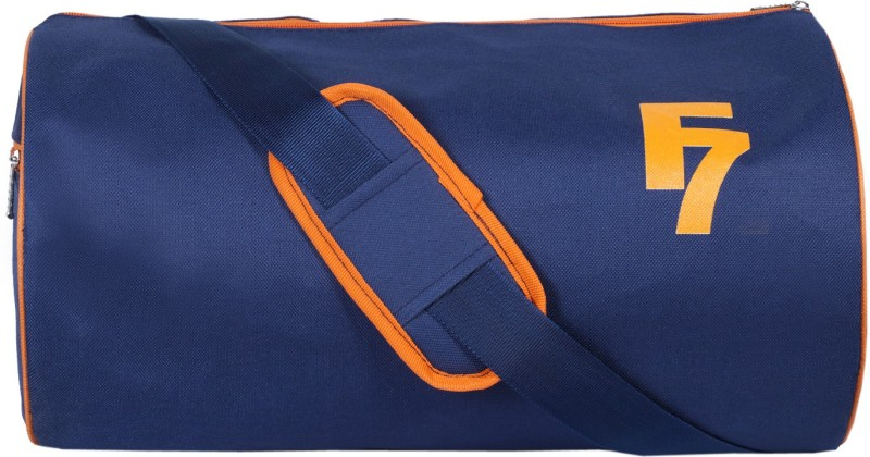 Dee Mannequin Navy Orange Gym Bag(Multicolor)